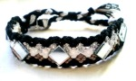 black and white mirror bracelet 1