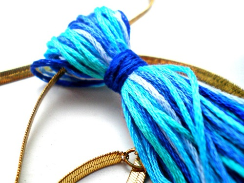 Tassel necklace 2a
