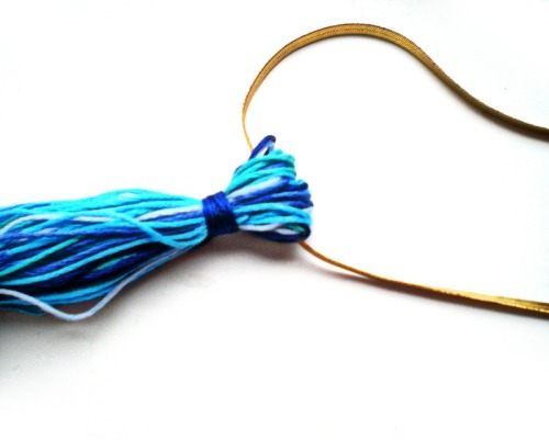 Tassel necklace 3a